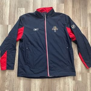 Vintage NHL FL Panthers Windbreaker Zip Jacket XL